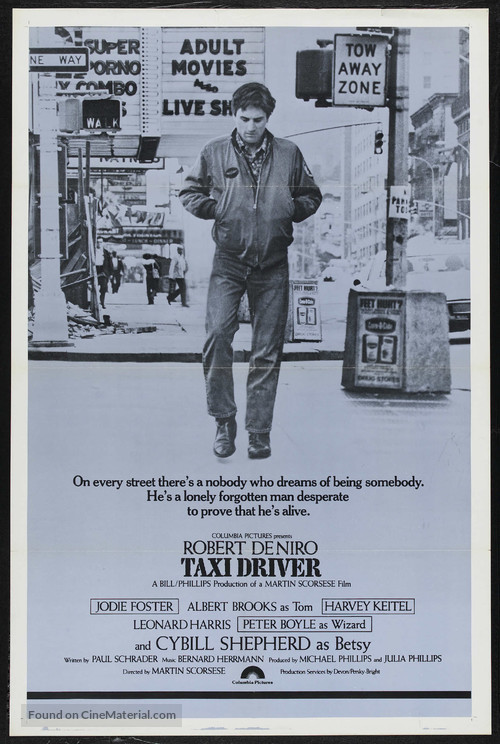 Taxi Driver - Theatrical movie poster