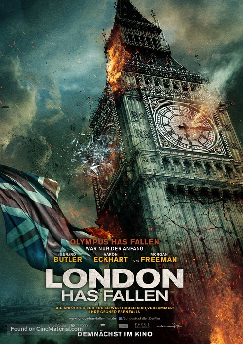 London Has Fallen - German Movie Poster