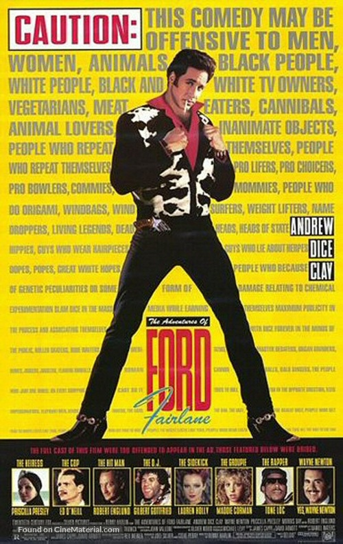 The Adventures of Ford Fairlane - Movie Poster