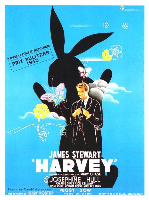 Harvey - French Movie Poster
