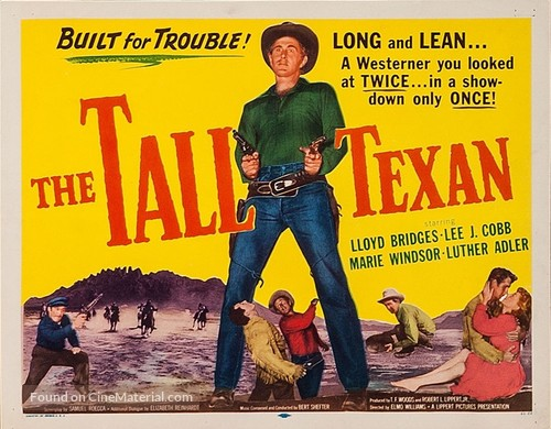 The Tall Texan - Movie Poster