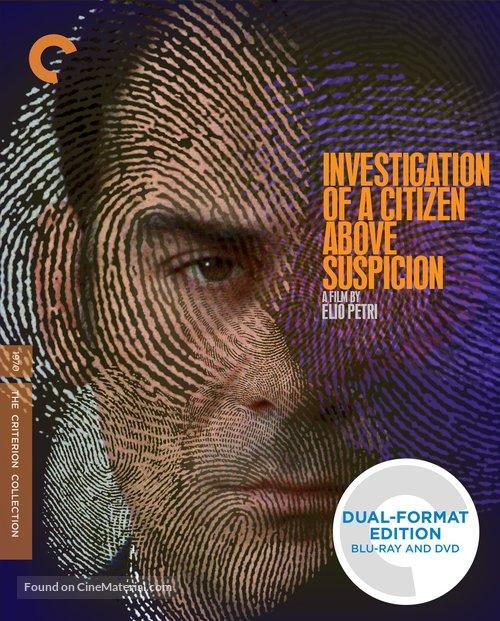 Indagine su un cittadino al di sopra di ogni sospetto - Blu-Ray cover