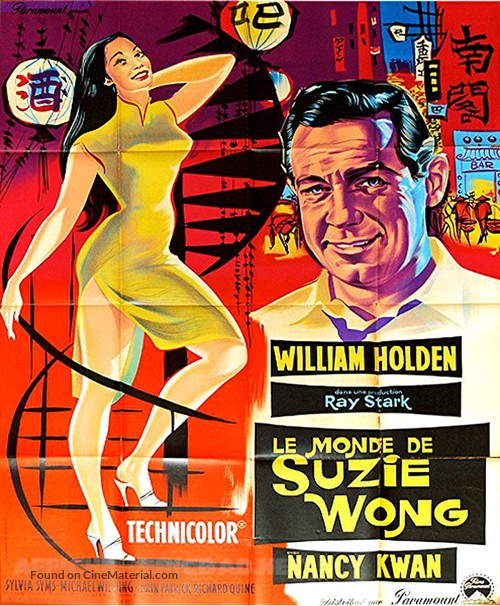 The World of Suzie Wong - French Movie Poster