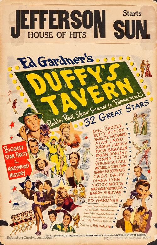 Duffy's Tavern - Movie Poster