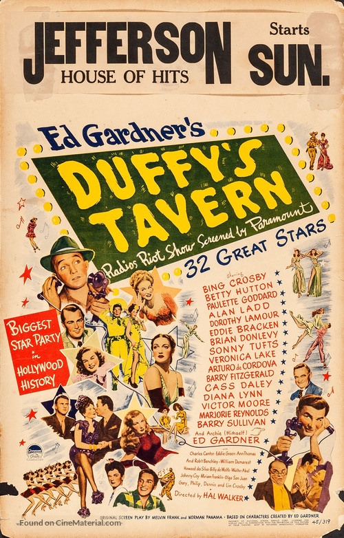 Duffy's Tavern - Movie Poster