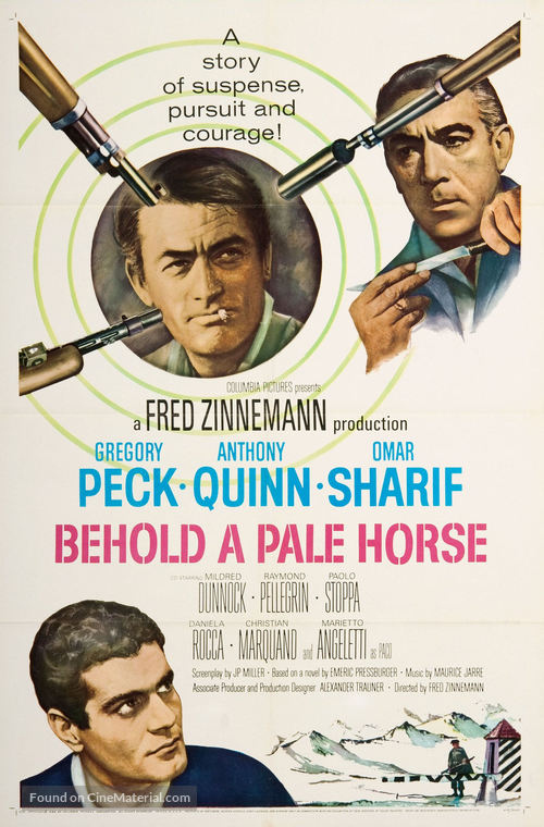 Behold a Pale Horse - Movie Poster