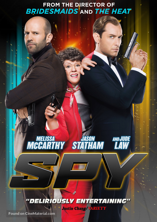 Spy - Movie Cover