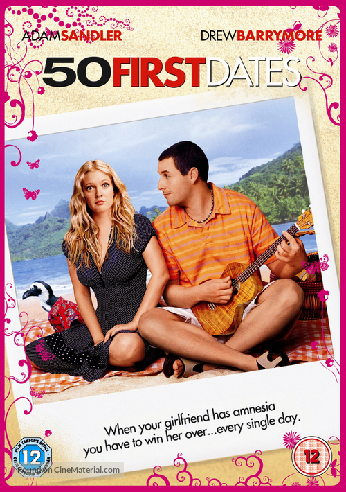 50 First Dates - British DVD cover