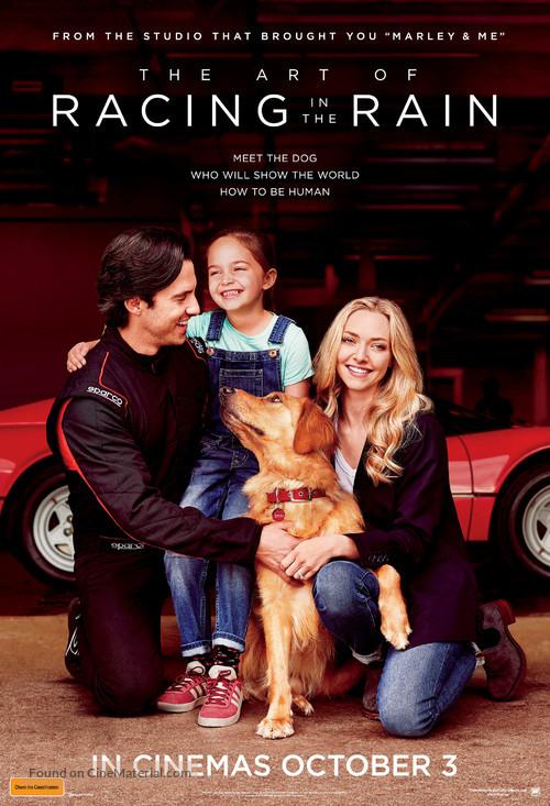 The Art of Racing in the Rain - Australian Movie Poster