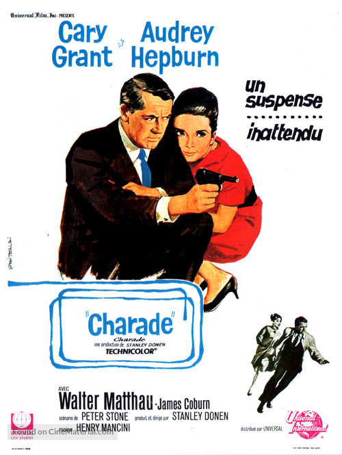 Charade - French Movie Poster