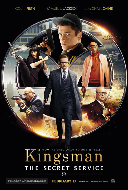 Kingsman: The Secret Service - Theatrical movie poster