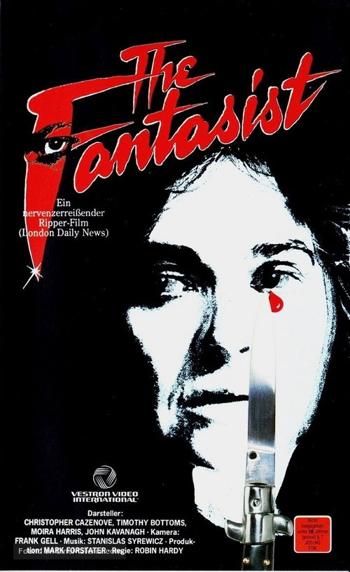 The Fantasist - German VHS cover