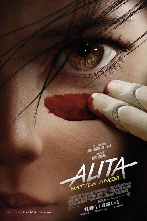 Alita: Battle Angel - Swiss Movie Poster