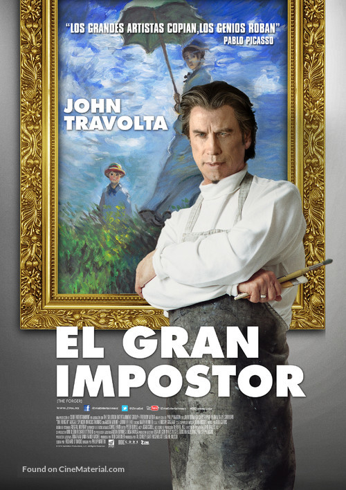 The Forger - Mexican Movie Poster