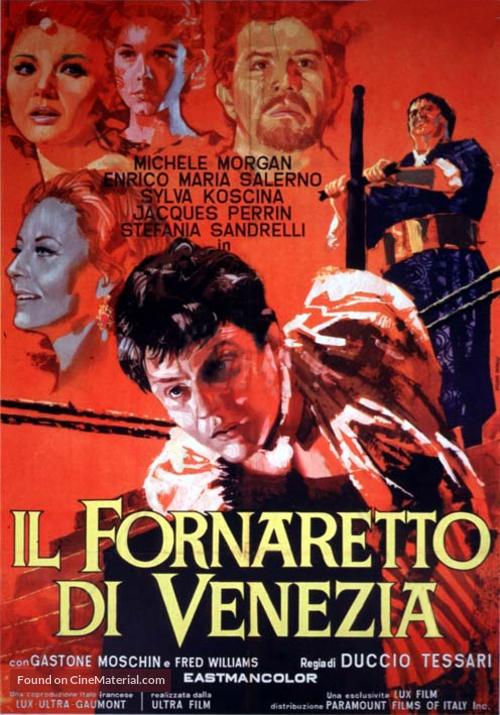 Il fornaretto di Venezia - Italian Movie Poster