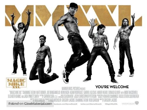 Magic Mike XXL - British Movie Poster