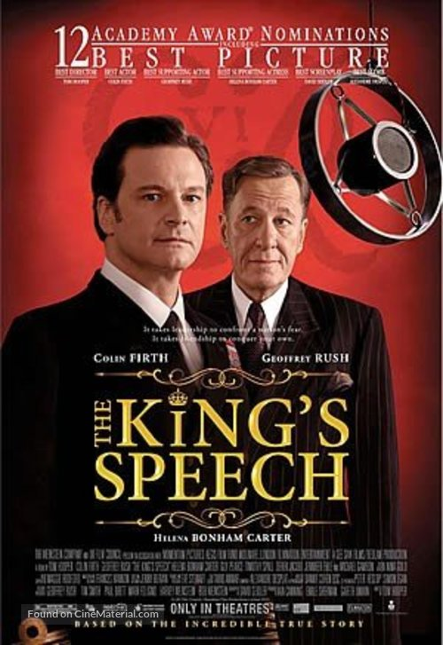 The King's Speech - Movie Poster
