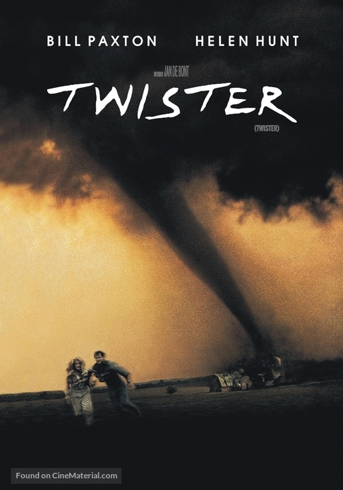 Twister - Argentinian DVD movie cover