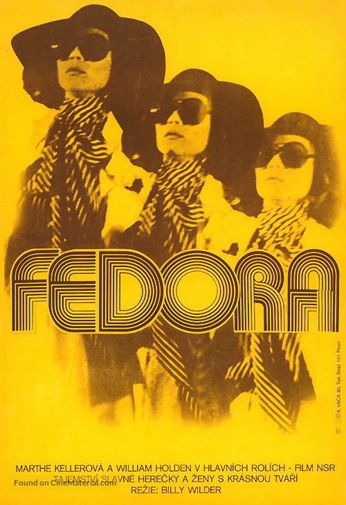 Fedora - Czech Movie Poster