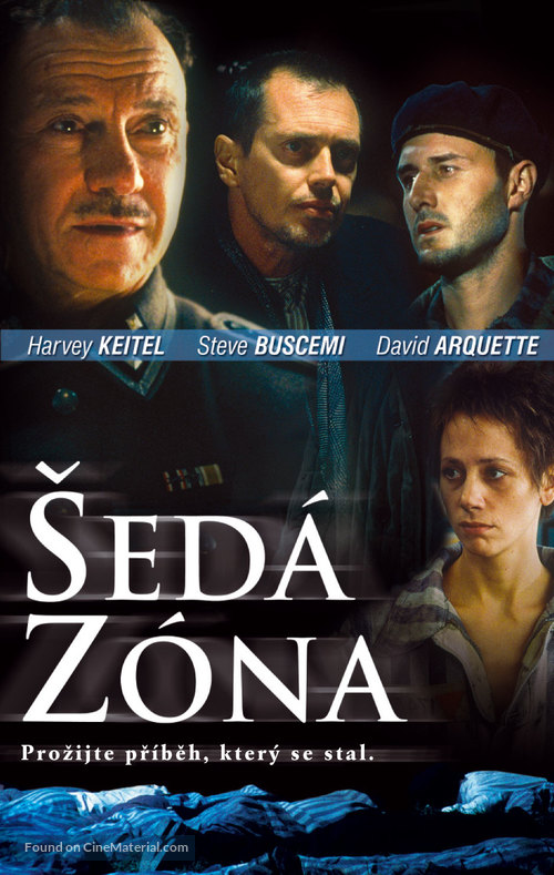 The Grey Zone - Czech DVD cover