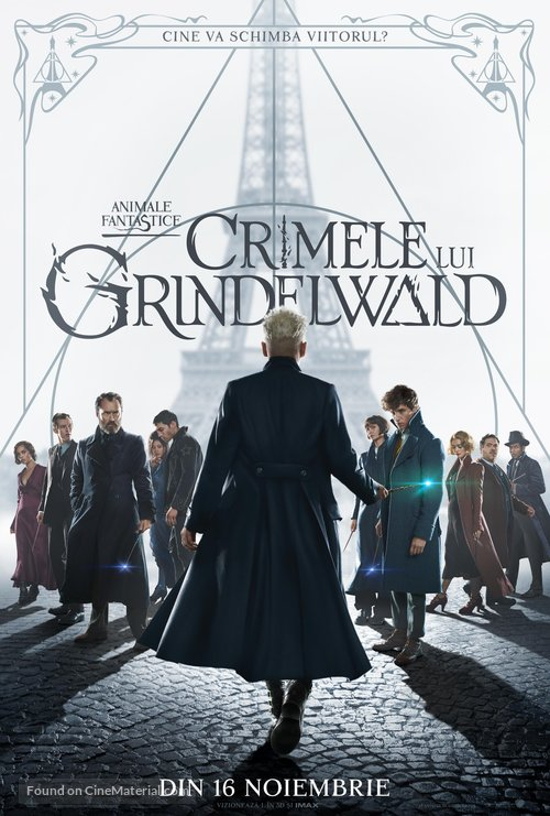 Fantastic Beasts: The Crimes of Grindelwald - Romanian Movie Poster