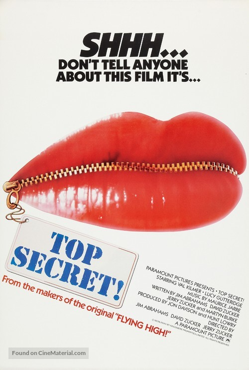 Top Secret - Movie Poster