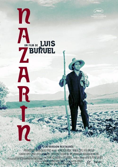 Nazarín - French Re-release movie poster