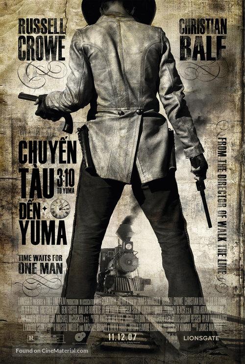 3:10 to Yuma - Vietnamese Movie Poster