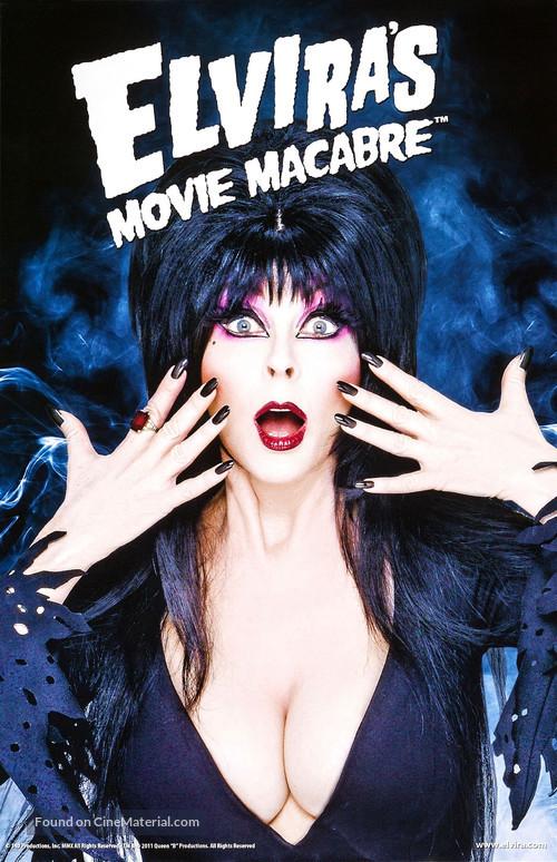 """""""Elvira's Movie Macabre"""" - Movie Poster"""