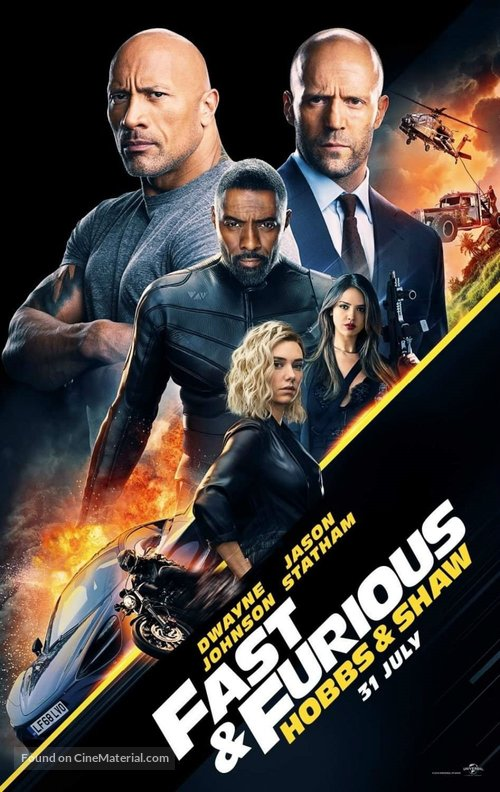 Fast & Furious Presents: Hobbs & Shaw - Indonesian Movie Poster