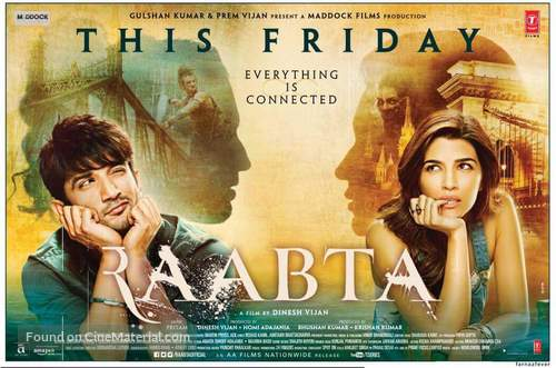 Image result for raabta poster