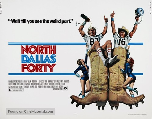 North Dallas Forty - Movie Poster