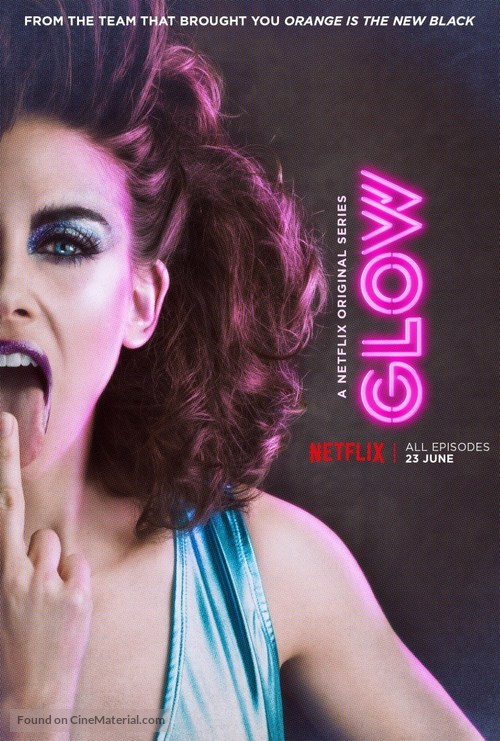 """GLOW"" - British Movie Poster"