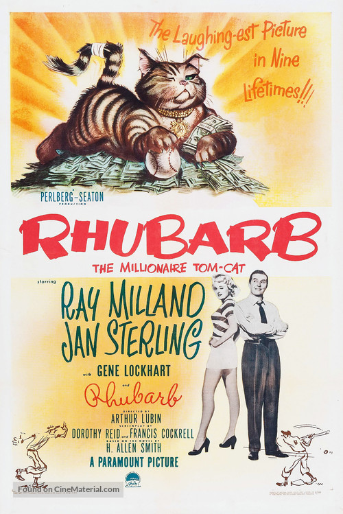 Rhubarb - Movie Poster