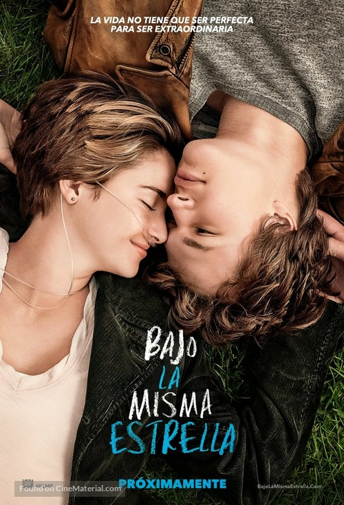 The Fault in Our Stars - Mexican Movie Poster