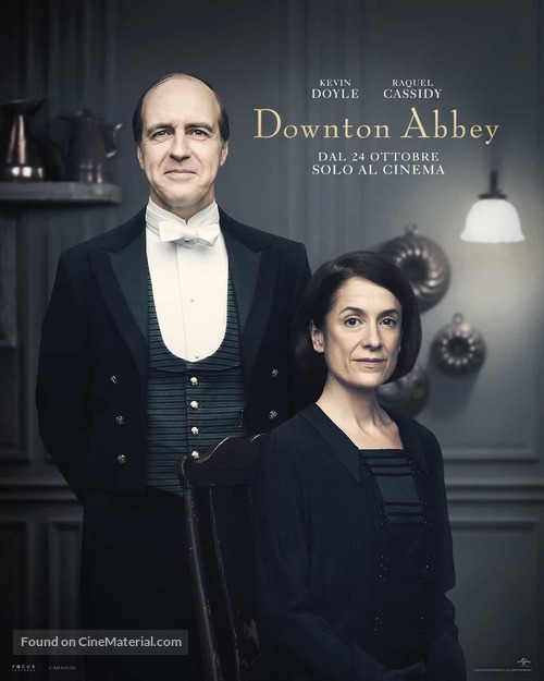 Downton Abbey - Italian Movie Poster