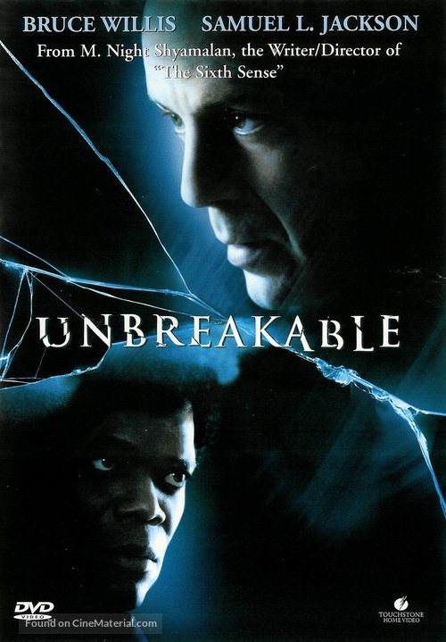 Unbreakable - Swedish Movie Cover