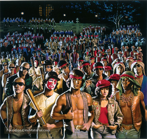 The Warriors - Key art