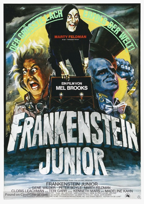 Young Frankenstein - German Movie Poster
