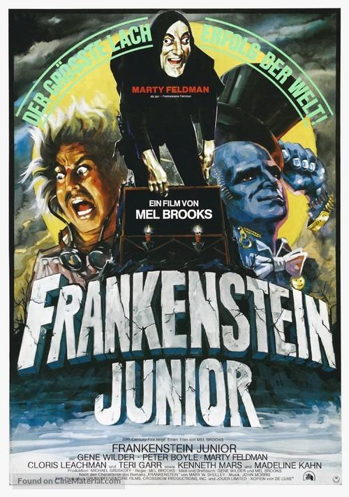 Young Frankenstein - German Movie Poster
