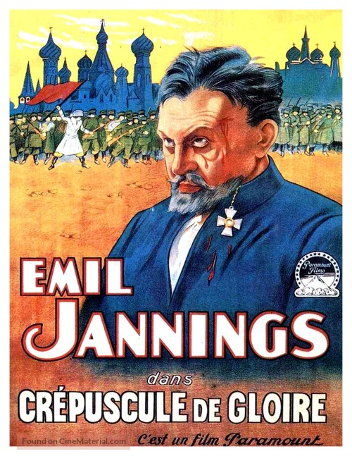 The Last Command - French Movie Poster