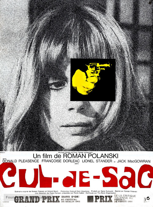 Cul-de-sac - French Movie Poster
