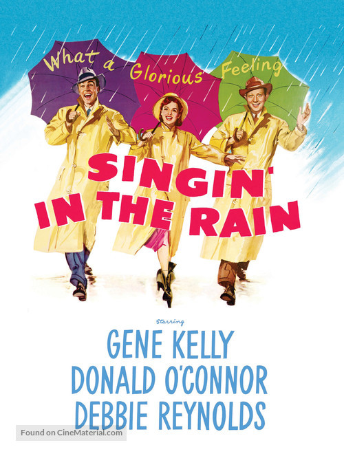 Singin' in the Rain - DVD cover