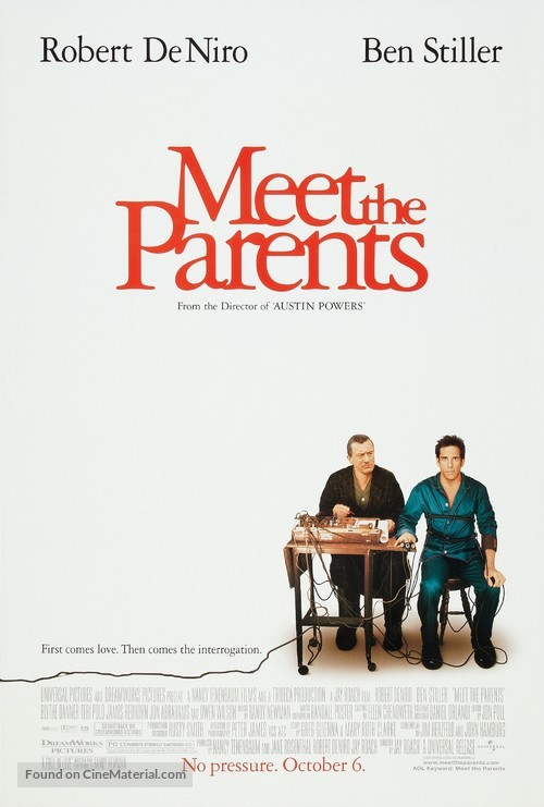 Meet The Parents - Movie Poster