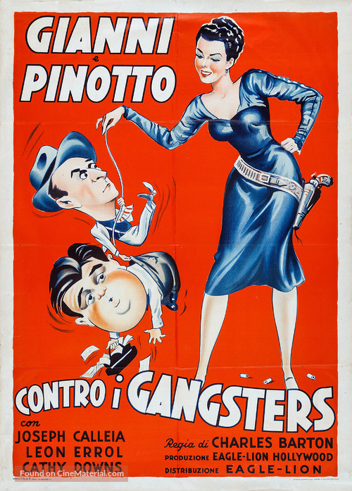 The Noose Hangs High - Italian Movie Poster