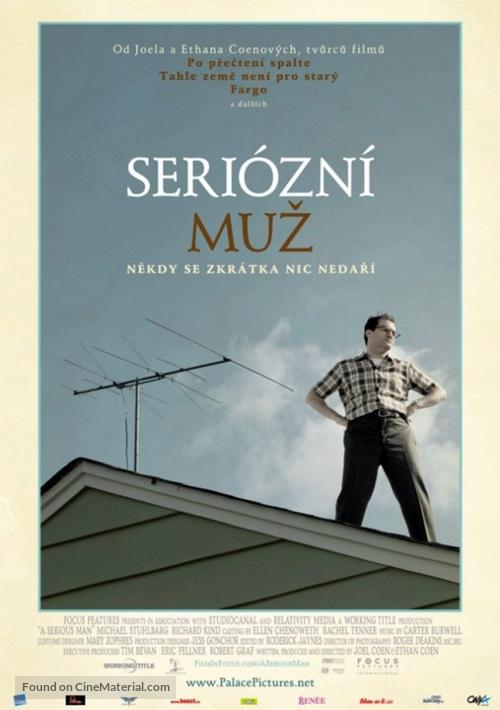 A Serious Man - Czech Movie Poster