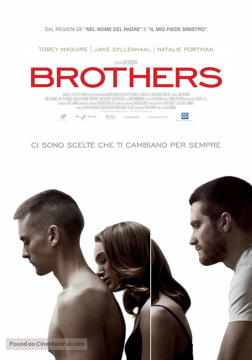 Brothers - Italian Movie Poster