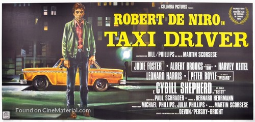 Taxi Driver - Italian Movie Poster