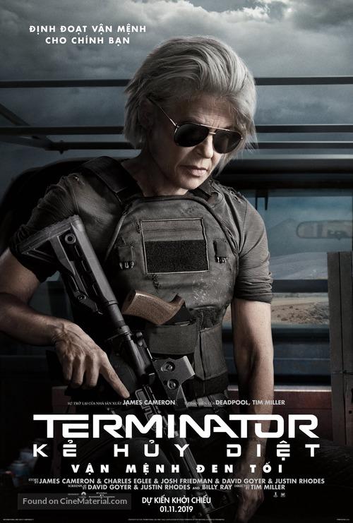 Terminator: Dark Fate - Vietnamese Movie Poster