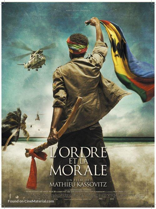 L'ordre et la morale - French Movie Poster